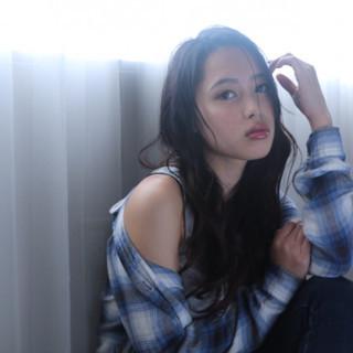 モテ髪 ナチュラル かわいい ロング ヘアスタイルや髪型の写真・画像