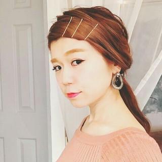 夏 秋 涼しげ ハイライト ヘアスタイルや髪型の写真・画像