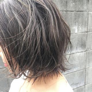ハイライト 外国人風カラー 外国人風 暗髪 ヘアスタイルや髪型の写真・画像