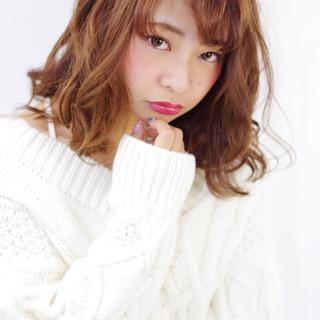 ゆるふわ ガーリー 前髪あり 渋谷系 ヘアスタイルや髪型の写真・画像