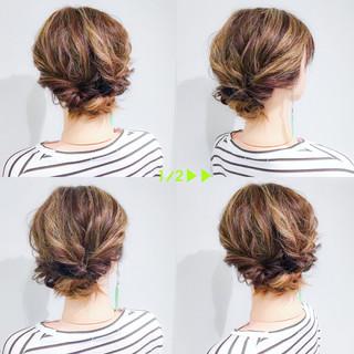デート アウトドア オフィス ボブ ヘアスタイルや髪型の写真・画像