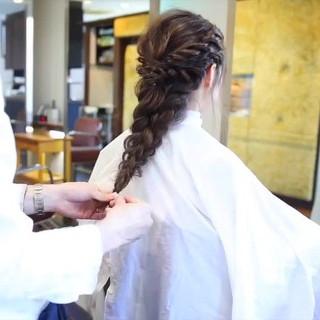 大人かわいい デート 結婚式 抜け感 ヘアスタイルや髪型の写真・画像