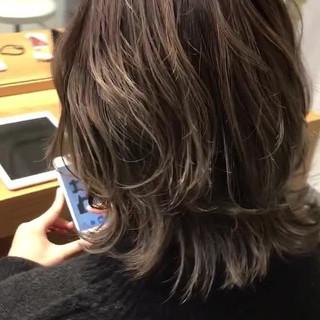ハイライト マッシュ モード こなれ感 ヘアスタイルや髪型の写真・画像