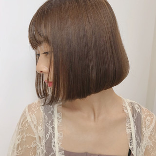 デート 透明感 愛され ミルクティー ヘアスタイルや髪型の写真・画像