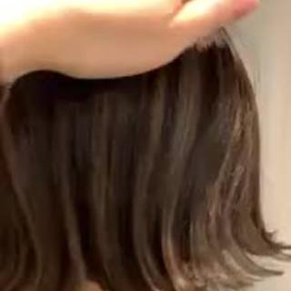 ハイライト 大人かわいい エレガント ショートボブ ヘアスタイルや髪型の写真・画像