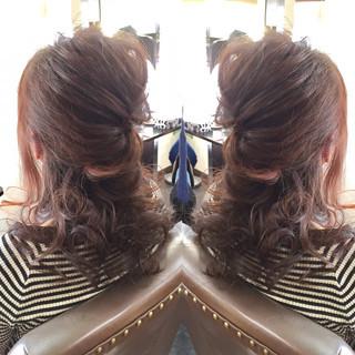 ロング ショート 上品 エレガント ヘアスタイルや髪型の写真・画像