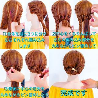 上品 大人かわいい 結婚式 ヘアアレンジ ヘアスタイルや髪型の写真・画像