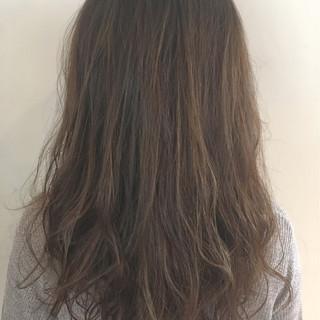 外国人風 ハイライト パーマ ロング ヘアスタイルや髪型の写真・画像