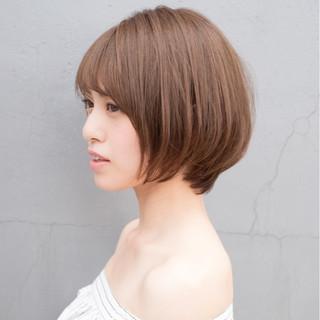デジタルパーマ ボブ デート ショートボブ ヘアスタイルや髪型の写真・画像