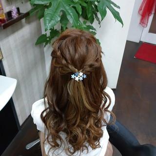 ナチュラル ヘアアレンジ ロング ふわふわヘアアレンジ ヘアスタイルや髪型の写真・画像