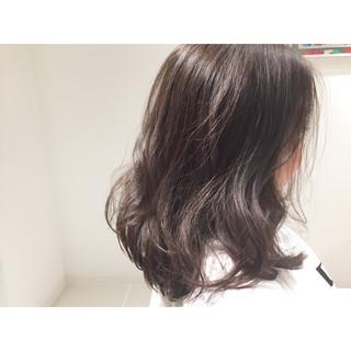 メッシュ 外国人風 アッシュ ナチュラル ヘアスタイルや髪型の写真・画像