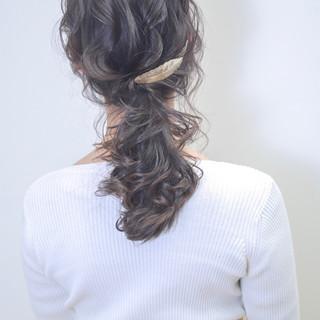 結婚式 セミロング 成人式 ヘアアレンジ ヘアスタイルや髪型の写真・画像