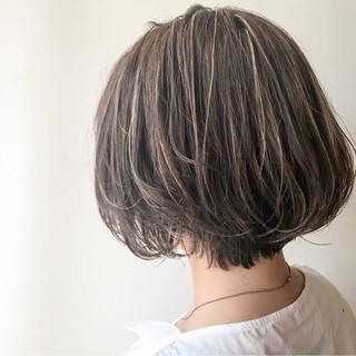 大人かわいい 愛され モテ髪 ショートボブ ヘアスタイルや髪型の写真・画像