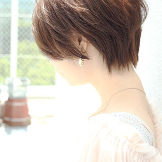 エフォートレス 色気 小顔 ナチュラル ヘアスタイルや髪型の写真・画像
