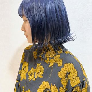 ハイライト ハイトーンカラー インナーカラー ストリート ヘアスタイルや髪型の写真・画像