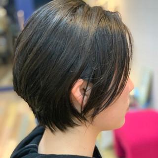 ナチュラル可愛い ショートボブ ショートヘア ナチュラル ヘアスタイルや髪型の写真・画像
