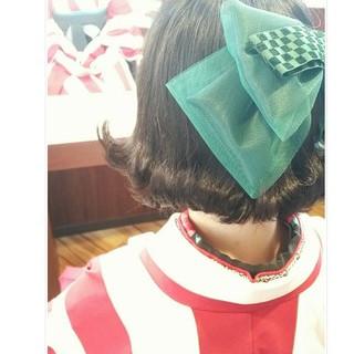 袴 ナチュラル 謝恩会 学校 ヘアスタイルや髪型の写真・画像