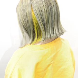 ショートボブ ナチュラル ボブ ミルクティーベージュ ヘアスタイルや髪型の写真・画像