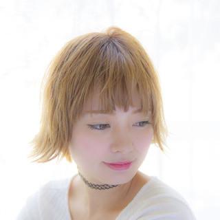 ブリーチ 秋 ストリート 外国人風 ヘアスタイルや髪型の写真・画像