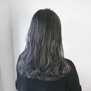 ロング ストリート ハイライト 愛され ヘアスタイルや髪型の写真・画像