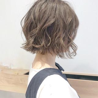 ウルフカット ショートボブ ナチュラル ショートヘア ヘアスタイルや髪型の写真・画像