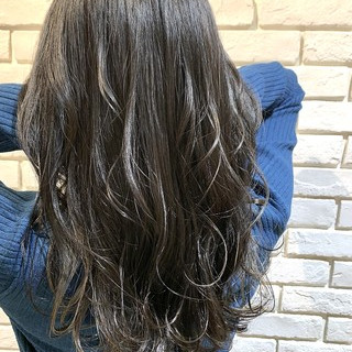 セミロング エレガント イルミナカラー ヘアスタイルや髪型の写真・画像
