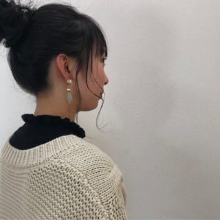 ナチュラル ヘアアレンジ 簡単ヘアアレンジ 成人式 ヘアスタイルや髪型の写真・画像