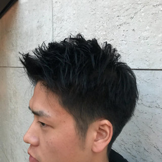 ショート 無造作 ストリート 刈り上げ ヘアスタイルや髪型の写真・画像