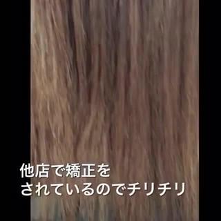 ナチュラル 髪質改善 最新トリートメント 髪質改善トリートメント ヘアスタイルや髪型の写真・画像