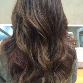 大人女子 ストリート アッシュ ミディアム ヘアスタイルや髪型の写真・画像