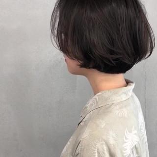 ショートボブ ショート 簡単 似合わせ ヘアスタイルや髪型の写真・画像