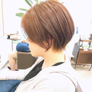 ショートヘア ショート 丸みショート 川越 ヘアスタイルや髪型の写真・画像