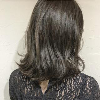 ボブ ナチュラル 色気 ミディアム ヘアスタイルや髪型の写真・画像