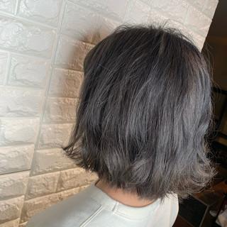 デート 結婚式 ボブ ヘアアレンジ ヘアスタイルや髪型の写真・画像