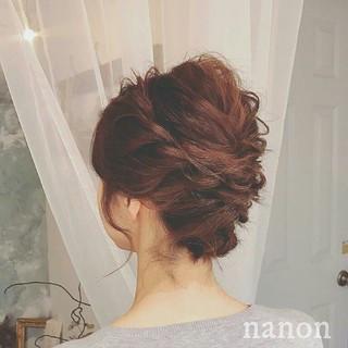 大人かわいい 春 ヘアアレンジ フェミニン ヘアスタイルや髪型の写真・画像