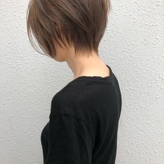 オフィス ボブ ショート 大人女子 ヘアスタイルや髪型の写真・画像