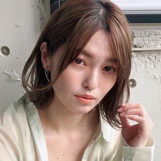 モテ髪 デジタルパーマ ナチュラル デート ヘアスタイルや髪型の写真・画像