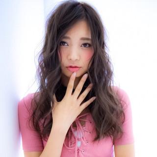 ゆるふわ かっこいい 大人女子 ロング ヘアスタイルや髪型の写真・画像