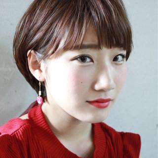 耳かけ 抜け感 色気 大人かわいい ヘアスタイルや髪型の写真・画像