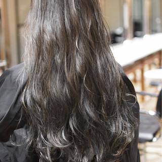 グラデーションカラー 外国人風カラー ガーリー ダブルカラー ヘアスタイルや髪型の写真・画像