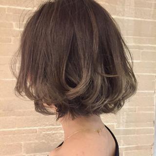 ハイライト 外国人風カラー 外国人風 アッシュ ヘアスタイルや髪型の写真・画像