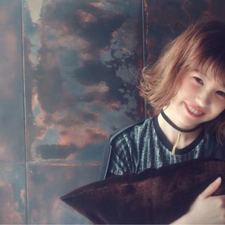 ハイライト パーマ グラデーションカラー ストリート ヘアスタイルや髪型の写真・画像