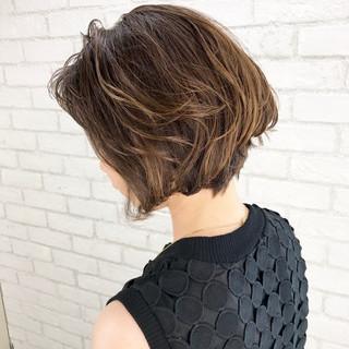 こなれ感 ウェーブ 大人女子 ボブ ヘアスタイルや髪型の写真・画像