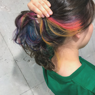 愛され ゆるふわ ミディアム ストリート ヘアスタイルや髪型の写真・画像