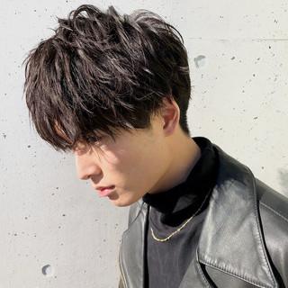 メンズカット ショート ストリート メンズパーマ ヘアスタイルや髪型の写真・画像