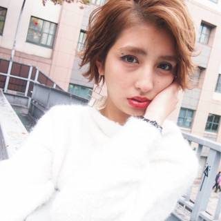 春 ショート ストリート 外国人風 ヘアスタイルや髪型の写真・画像