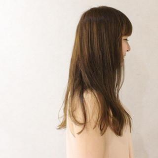 アッシュ ゆるふわ ガーリー グラデーションカラー ヘアスタイルや髪型の写真・画像