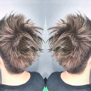 メンズ ストリート ボーイッシュ アッシュ ヘアスタイルや髪型の写真・画像