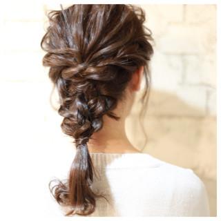 セミロング 大人かわいい グラデーションカラー ゆるふわ ヘアスタイルや髪型の写真・画像
