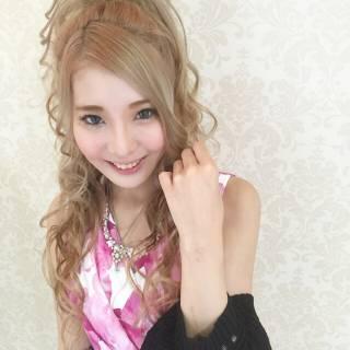 フェミニン 春 渋谷系 ガーリー ヘアスタイルや髪型の写真・画像